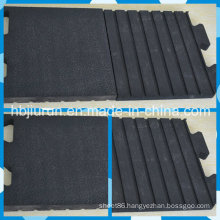 17mm Amoebic Finish Rubber Mat for Sale