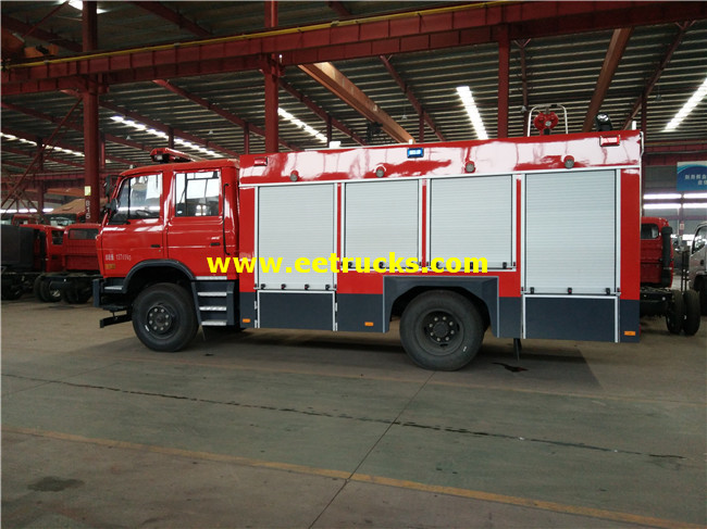 6000L Forest Fire Fighting Trucks