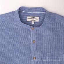 Camisas De Hombre De Jeans De Mezclilla Azul al por mayor