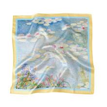 benutzerdefinierter Schal aus 100% reiner 6A Maulbeerseide