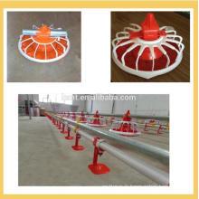 Système d'alimentation de casserole de plancher d'équipement de ferme de vente chaude de poulet et de mamelon