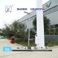 9m 75W levou luz de rua Solar da bateria de lítio