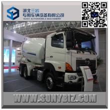 6 M3 Hino Transit Mixer Truck