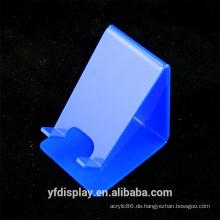 Blaue Acryl Handy Display Rack