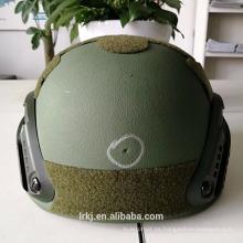 Minitary Antibullet PE material NIJ IIIA 0101.06 Casco a prueba de balas / casco balístico