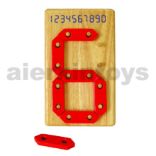 Wooden Digital Number Toy
