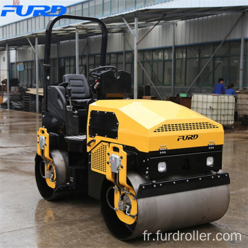 FURD Construction Machinery 3 Ton Vibratory Tandem Compacting Roller