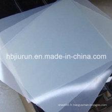 Feuille en caoutchouc de silicone, feuilles en caoutchouc de Q, feuilles de silicone faites avec 100% de silicone vierge sans odeur