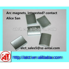 Bogen geformt Seltenerd-Magneten