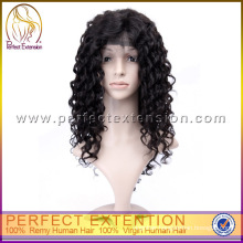 High Quality Yaki Curly Lace Front Wigs For African American Women