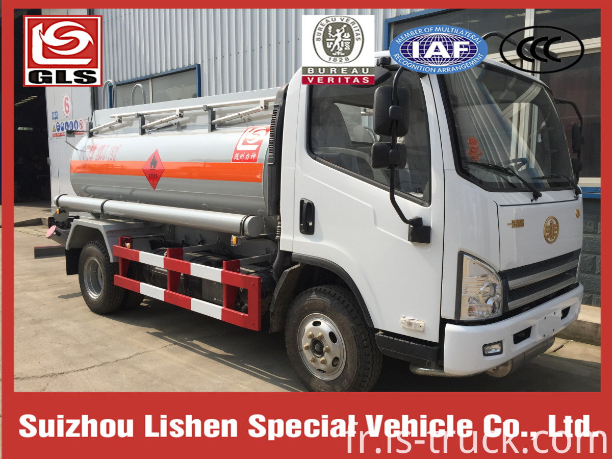 FAW 2 Axles Fuel Delivery Tanker Tank Truck Fuel Tanker