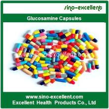 Cápsulas de Glucosamina Certificadas GMP de Alta Qualidade