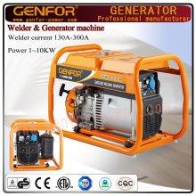 Générateur de soudage à essence de 200A 5kw de l'usine chinoise