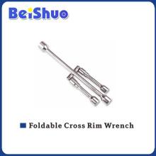 Hochwertiger Faltbarer Kreuzfelgenschlüssel zum Reparieren