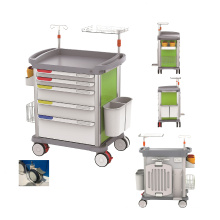 Good Quality Hospital Medical Emergency Trolley Cart Price for Sale
