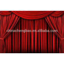 Stage curtains motor red velvet stage curtain