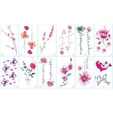 Fashion Cartoon Tattoo Stickers for Party/Celebration/Festival/Ceremony