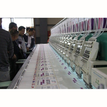 9 needles 20 heads High speed Embroidery Machines with 8 inch LCD