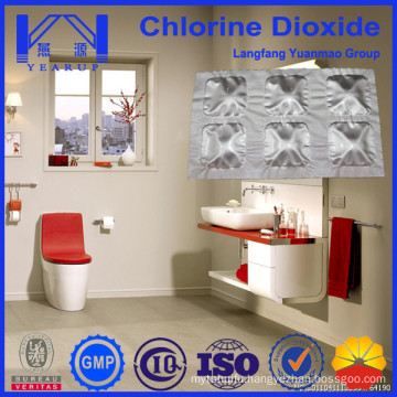 Toilet Deodorizing Chemicals with Chlorine Dioxide Agents