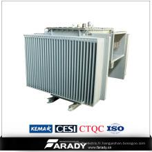 Transformateur de puissance à transformateur 630 kVA 3 prises