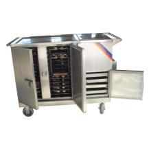 Carretilla de comida de la calefacción eléctrica Thr-FC001