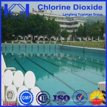 Fournisseur de dioxyde de chlore de piscine de 20 g