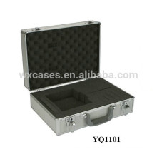 portable aluminum instrument case with custom foam insert