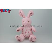 """8,3 """"Pink Softest Stuffed Bunny Tier mit Stickerei Brust für Baby Bos1153"""