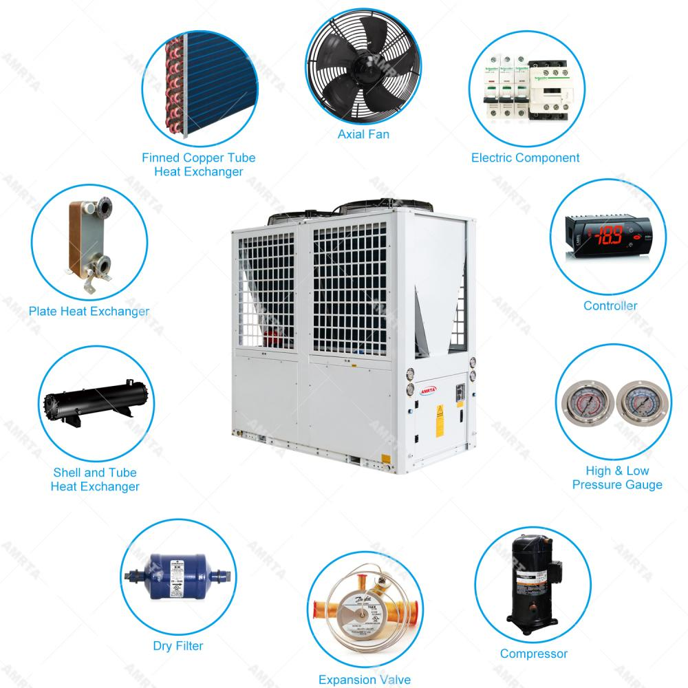 Air to Water Chiller with Heating and Cooling