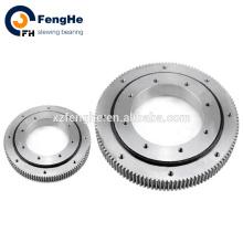 slewing ring bearing with worm gear large diameter slewing bearing