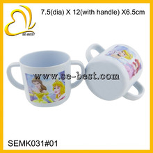 kids melamine mug double handle melamine kids cup
