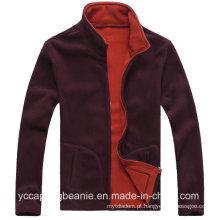 Jaqueta de lã polares polar esportiva para homem