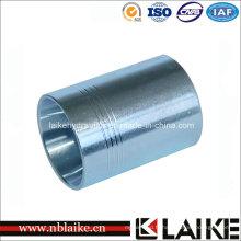 Manchon de compression, douille d'adaptateur de tuyau d'acier au carbone hydraulique