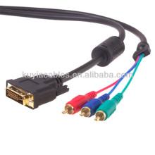 DVI-D DVI CABLE DVI Dual Link Цифровой видеокабель для HDTV 1,5 метра