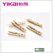 Ensemble utile de pinces en bois en pin 24pcs imperméabilisant les insectes