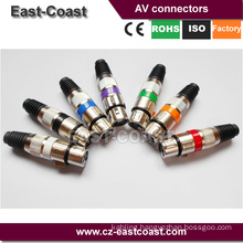 Preminum 3P cannon xlr audio connector