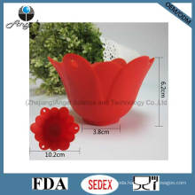 Flower Silicone Egg Poacher Tool Slicone Egg Mould Se14