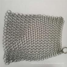 Lavador de malha de anel de aço inoxidável / limpador de ferro fundido