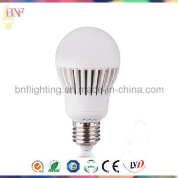 Ampoule d'usine thermo-plastique 7W / 9W / 11W A60 avec PC E27