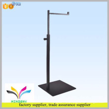 High quality black practical hanging scarf and hat display stand