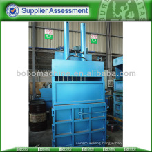Rags packing and baling machine