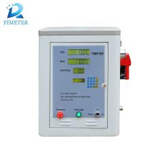 Distribuidor do combustível da gasolina 12V / 24V / 220V com medidor de fluxo, mini distribuidor eletrônico do combustível, distribuidores digitais do combustível