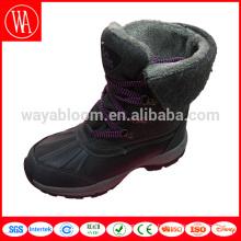 2018 ODM OEM fashion ladies snow fur women winter boots