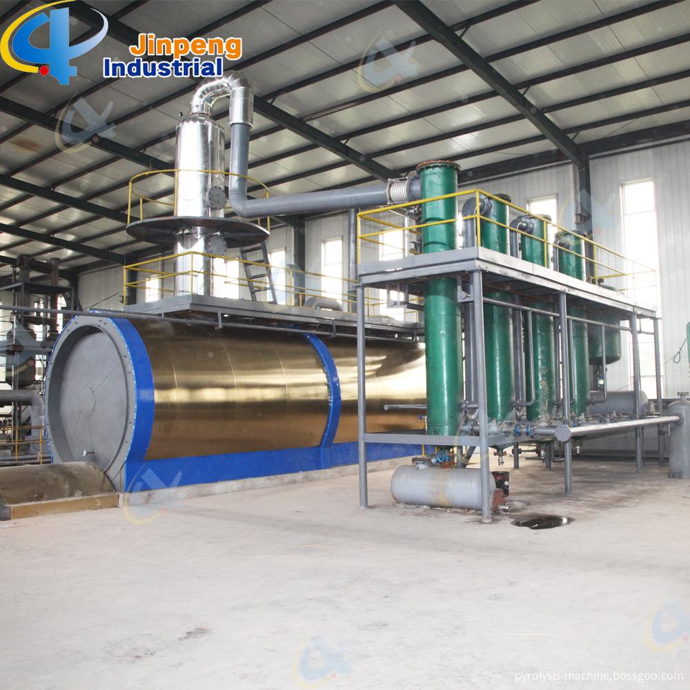 Waste Lub Oil Distillation Machine