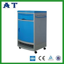 Прочный и легкий очистки больницы ABS прикроватный шкафчик