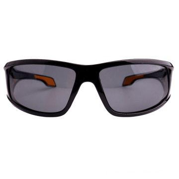 Black Sporty Sunglass with Rubber Tip