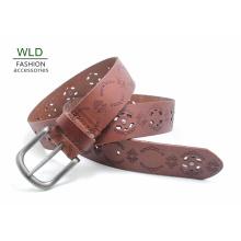 Fashion Perf Genuine Top en cuir Lady Belt Lky1168