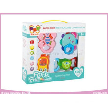 Baby Toys Combination Plastic Rings for Infant
