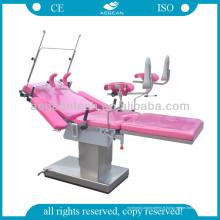 AG-C201A Ce et ISO acier inoxydable gynécologie inversion électrique chaise