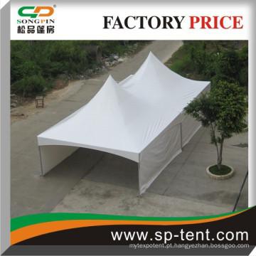 Barraca de esportes 6x9m em estrutura de alumínio para festa de jardim